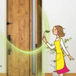 【家の換気】採風タイプの玄関ドアにリフォームして快適&エコ!