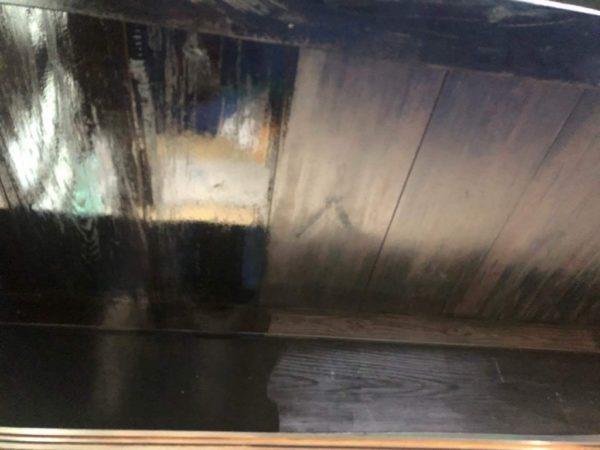 古民家天井塗装