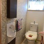 手洗い器を新設して、子どもが使いやすいトイレに 加古川市S様邸(トイレリフォーム)