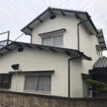 【セラミック吹き付けの外壁】ミラクシーラーで固めてから外壁塗装 加古川市T様邸