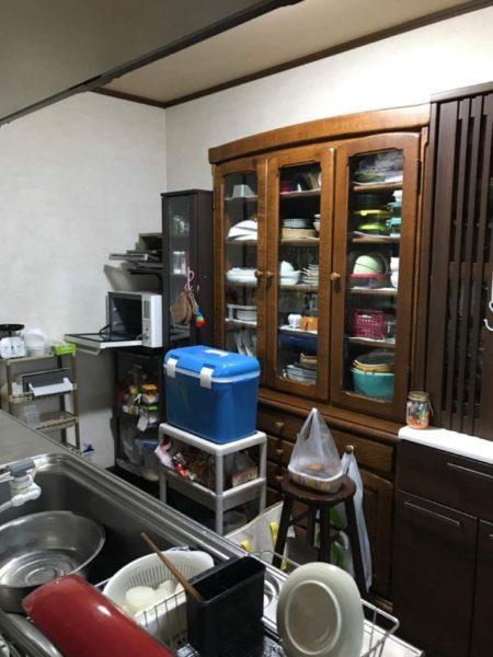 リフォーム前食器棚