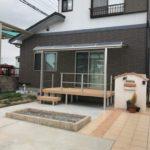 庭にデッキを設置して便利なアウトドア空間にリフォーム 加古川市S様邸