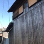 外壁の焼き板塗装・1面貼り替え 高砂市M様邸(築50年、外装リフォーム)