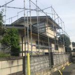 【計4回塗り】パーフェクトトップを使った外壁塗装 高砂市K様邸①(セキスイハイム築48年)