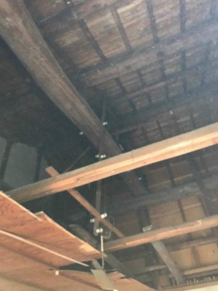 和室天井解体