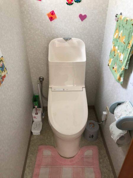 トイレ取り替え
