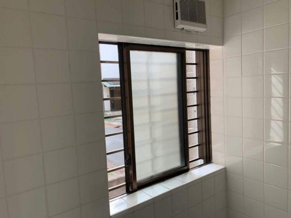 リフォーム前のお風呂の窓