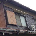 【雨漏り修理】外壁の板金張り替え・防水シート施工 高砂市U様邸
