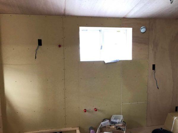 天井・壁下地工事