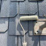 白×黄色の外壁にグリーンの屋根が映える家 高砂市N様邸(築17年、屋根・外壁塗装)