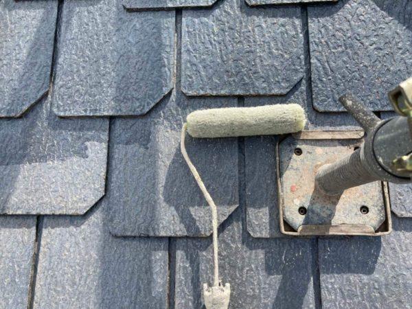 カラーベスト屋根下塗り