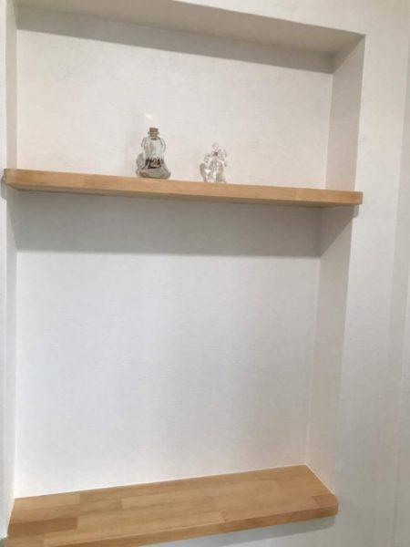 トイレ造作棚