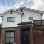 【サイディング外壁】1階と2階で違う色に塗装 高砂市K様邸(ヤング開発築19年)