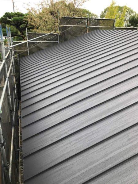金属屋根カバー工法