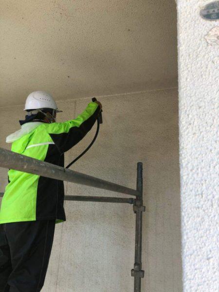 外壁バイオ高圧洗浄