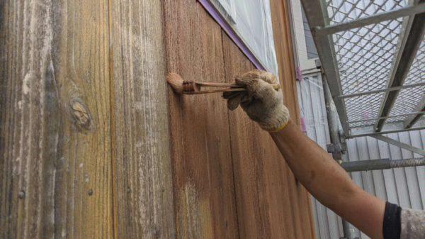 キシラデコール木部塗装
