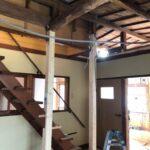 白蟻が発生していた床のリフォーム・柱による補強 姫路市Y様邸