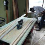 床の傾きを直す!畳からフローリングに変えるための下地工事 加西市K様邸(築30年)