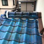 【雨漏り修理】屋根漆喰工事・瓦の一部差し替え 高砂市T様邸(築39年)
