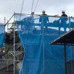 【瓦から金属屋根に葺き替え】足場組立、瓦の撤去 高砂市M様邸