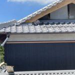 破風板塗装作業 三木市K様邸(築100年)