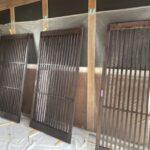 建具塗装作業 三木市K様邸(築100年)